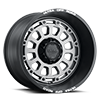 8 LUG 111 XTREME SATIN GRAPHITE WITH SATIN BLACK LIP, MILLED LETTERS AND SATIN CLEAR COAT