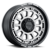 6 LUG 111 XTREME SATIN GRAPHITE WITH SATIN BLACK LIP, MILLED LETTERS AND SATIN CLEAR COAT
