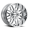 203 Hunter Chrome - 22x12 6 lug
