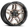 5 LUG 258 PROWLER JEEP DARK SATIN BRONZE WITH SATIN BLACK LIP AND SATIN CLEAR-COAT
