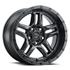 5 LUG 258 PROWLER JEEP SATIN BLACK AND SATIN CLEAR COAT