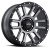 107 Xtreme Satin Graphite with Satin Black X-Lok Lip 5 lug