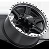 8 LUG 176 VAGABOND GLOSS BLACK WITH DIAMOND CUT LIP AND CLEAR COAT