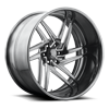 Nemesis 6 - U464 Candy Black | Hi Luster Windows 6 lug