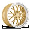 AFF10 Gold w/ Machined Lip 5 lug