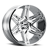 363 Razor Chrome 5 lug