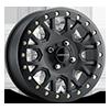 GV8BL Invader Beadlock Satin Black 4 lug
