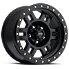 398 Manx Matte Black with Zinc Bolts 5 lug