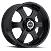 396 Assassin Matte Black 6 lug