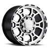 8 LUG 372 RAPTOR GLOSS BLACK MIRROR MACHINED FACE