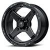 M39 Cross Satin Black with Titanium Tint 4 lug
