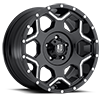 XD812 Crux Gloss Black Milled 5 lug