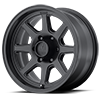 XD301 Satin Black 6 lug