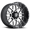 8 LUG XD820 GRENADE SATIN BLACK W/ MACHINED FACE