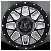 5 LUG XD820 GRENADE SATIN BLACK W/ MILLING