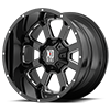 XD825 Buck 25 Gloss Black Milled 8 lug